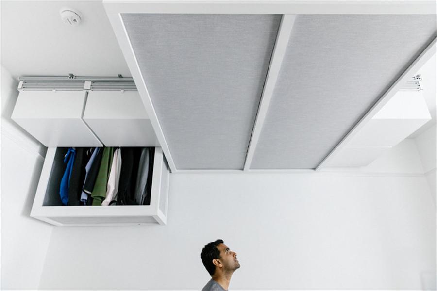机器人创业者提出智能机械化的天花板家居方案